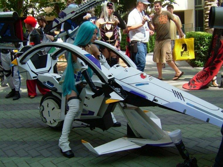 Необычные мотоциклы. Японский мотоцикл трансформер