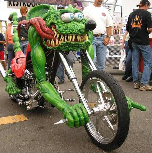 Необычные мотоциклы. Мыши-рокеры с марса