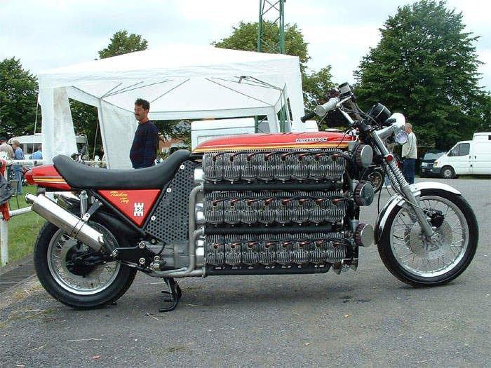 Необычные мотоциклы.