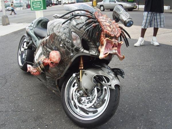 Необычные мотоциклы. Мотоцикл хищник