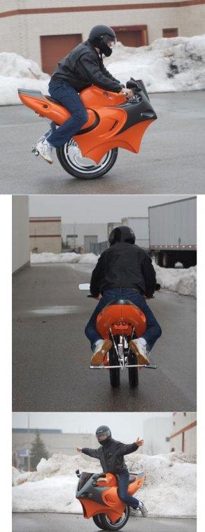 Необычные мотоциклы. Мотоцикл для фристайла и стрита