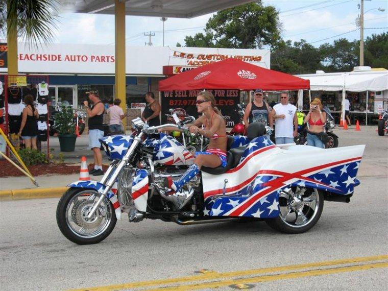 Необычные мотоциклы. Американский мотоцикл